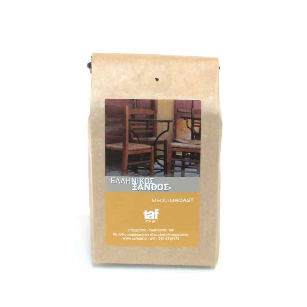Freshly Ground Greek Coffee 250g: Light Roast